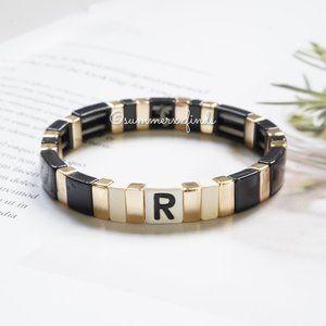 Roxanne Assoulin Alphabet City Bracelet - R